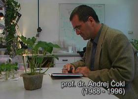 Prof. dr. Andrej Čokl (foto: Arhiv NIB)