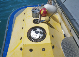 Equipment has to be well protected before it is put to the Sea floor. (photo: T. Makovec)