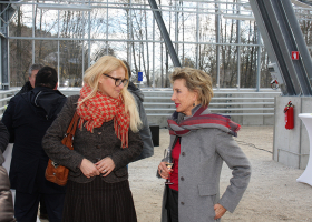 Jana Habjan Piletič, JHP d.o.o., in prof. dr. Tamara Lah Turnšek, direktorica NIB