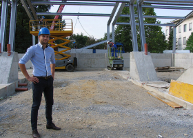 Odgovorni predstavnik izvajalca gradnje, Rok Simončič, prokurist