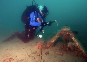 Delo pod vodo (foto: T. Makovec)