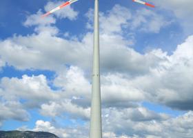 Monitoring of birds migration of proposed wind-farm area Senožeška brda. (Photo: Davorin Tome)