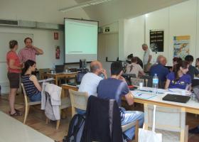 Delavnica EURAPMON projekta Evropske znanstvene fundacije v Murciji (Španija) v juniju 2013. (Foto: Irena Bertoncelj)