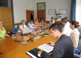 Obisk mag. Dejana Židana, ministra za kmetijstvo in okolje. (foto: H. Končar)